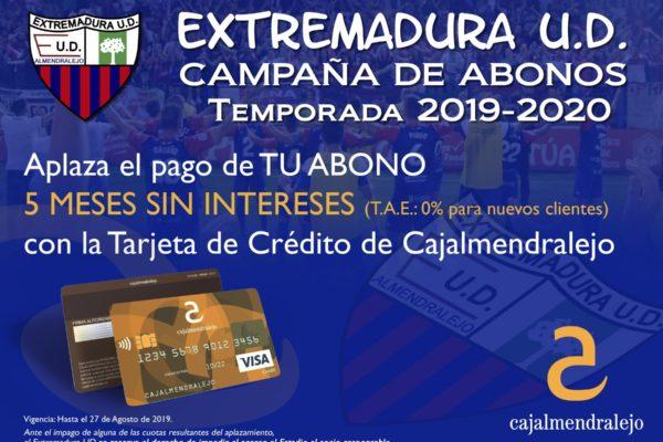 Cartel Campaña Extremadura UD v4