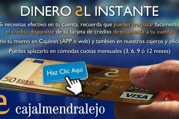 Tarjeta a Cuenta CA clic